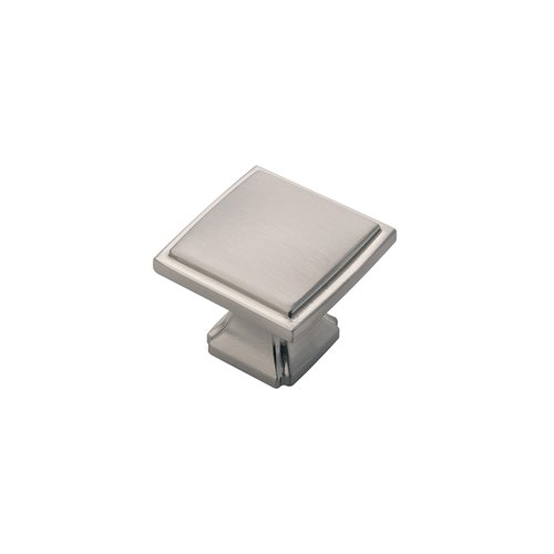 "Hickory Hardware Bridges Knob 1-1/4"" Dia Satin Nickel Finish P3240-SN"