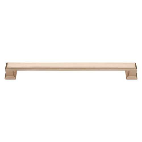 Atlas Homewares Sutton Place 7-9/16 Inch Center to Center Champagne Cabinet Pull 293-CM
