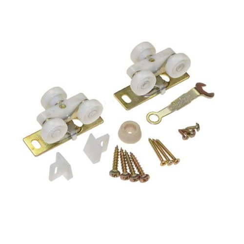 Johnson Hardware 1500 Series Pocket Door Hardware Set 125lbs 10311502