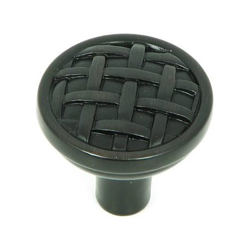 Stone Mill Hardware Sheffield 1-1/4 Inch Diameter Oil Rubbed Bronze Cabinet Knob CP28-OB