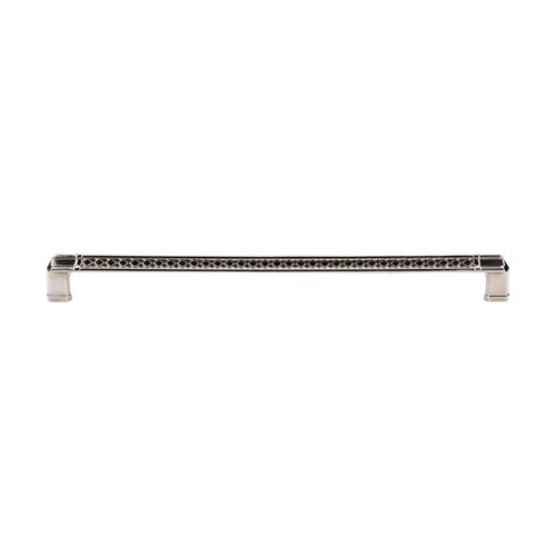 Top Knobs Tower Bridge 12 Inch Center to Center Polished Nickel Cabinet Pull TK207PN