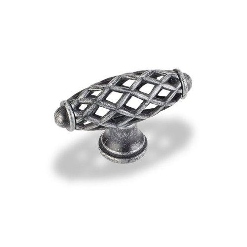 Jeffrey Alexander Tuscany 2-5/16 Inch Diameter Swedish Iron Machined Cabinet Knob 749SIM