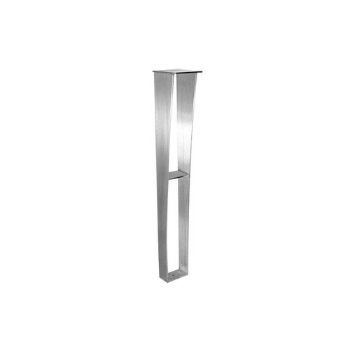 Federal Brace Anteris Countertop Support Leg 34.5 inch High Stainless Steel 39522