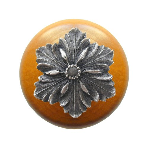 Notting Hill Classic 1-1/2 Inch Diameter Antique Pewter Cabinet Knob NHW-725M-AP
