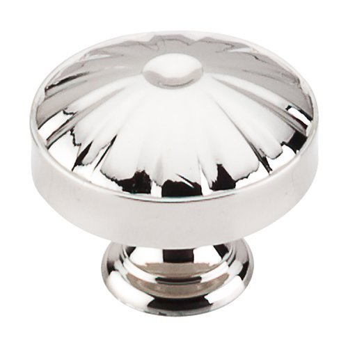 Dakota 1-1/4 Inch Diameter Polished Nickel Cabinet Knob <small>(#M1611)</small>