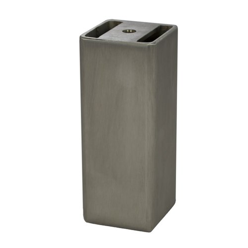 Federal Brace Wiltshite Furniture Foot 5 inch H Stainless Steel 40002