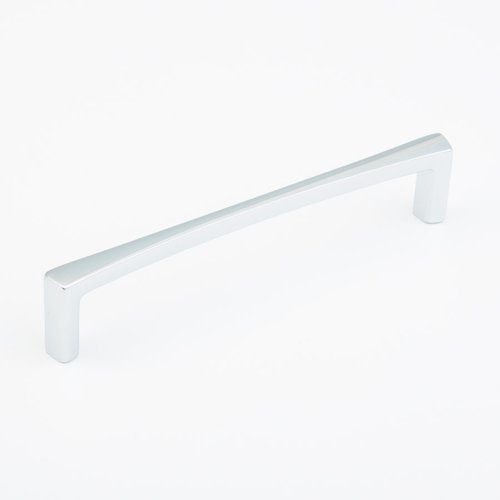 Schaub and Company Italian Contemporary 6 Inch Center to Center Polished Chrome Cabinet Pull 502-26