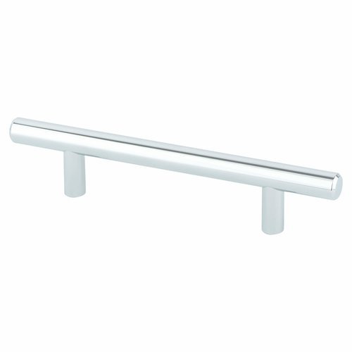 Berenson Tempo 3-3/4 Inch Center to Center Polished Chrome Cabinet Pull 2013-2026-P