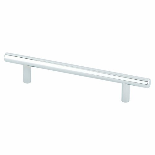 Berenson Tempo 5-1/16 Inch Center to Center Polished Chrome Cabinet Pull 2014-2026-P