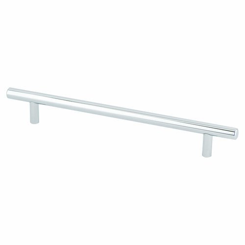 Berenson Tempo 7-9/16 Inch Center to Center Polished Chrome Cabinet Pull 2015-2026-P