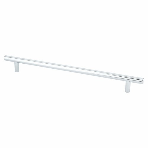 Berenson Tempo 10-1/16 Inch Center to Center Polished Chrome Cabinet Pull 2017-2026-P