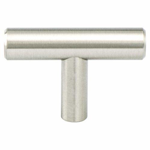 Berenson Tempo 2 Inch Diameter Brushed Nickel Cabinet Knob 2020-2BPN-P