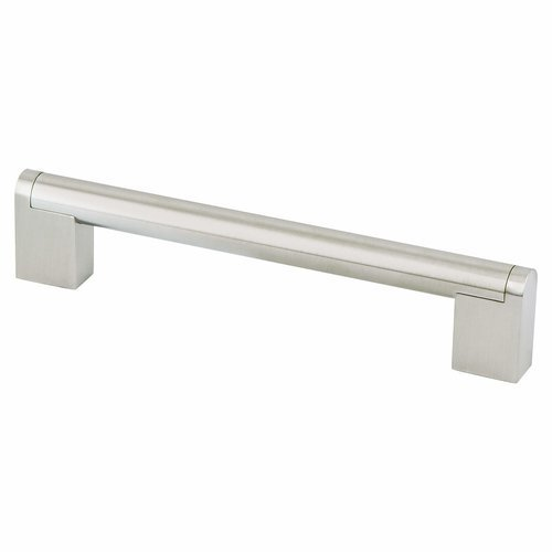 Berenson Studio 6-5/16 Inch Center to Center Stainless Steel Cabinet Pull 2022-90SS-P