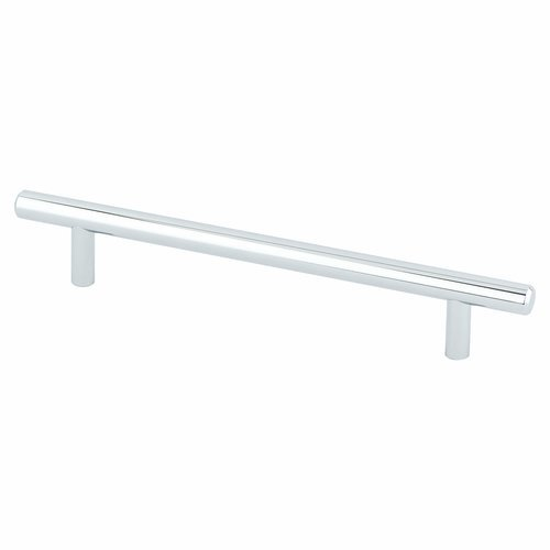 Berenson Tempo 6-5/16 Inch Center to Center Polished Chrome Cabinet Pull 2028-2026-P