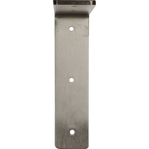 "Ekena Millwork Hamilton 2""W x 8""D x 8""H Countertop Bracket - Stainless Steel Stainless Steel BKTM02X08X08HASS"
