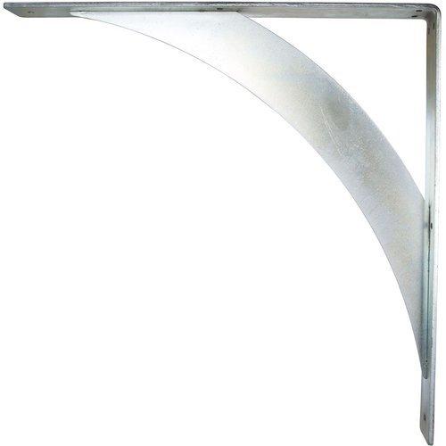 "Ekena Millwork Legacy 2""W x 20""D x 20""H Countertop Bracket - Cold Rolled Steel Unfinished BKTM02X20X20LECRS"