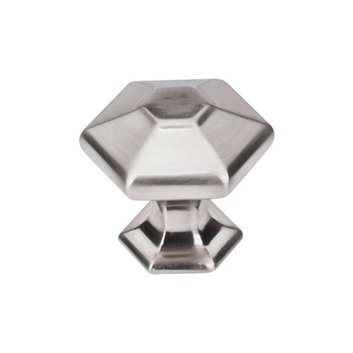 Top Knobs Transcend 1-1/8 Inch Diameter Brushed Satin Nickel Cabinet Knob TK712BSN
