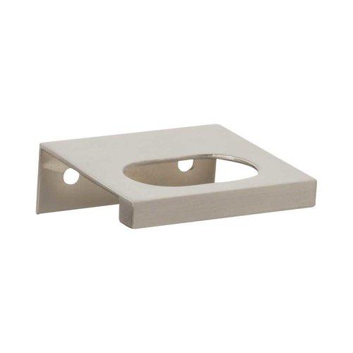 Atlas Homewares MidCentury 1-1/4 Inch Center to Center Brushed Nickel Cabinet Pull 364-BRN