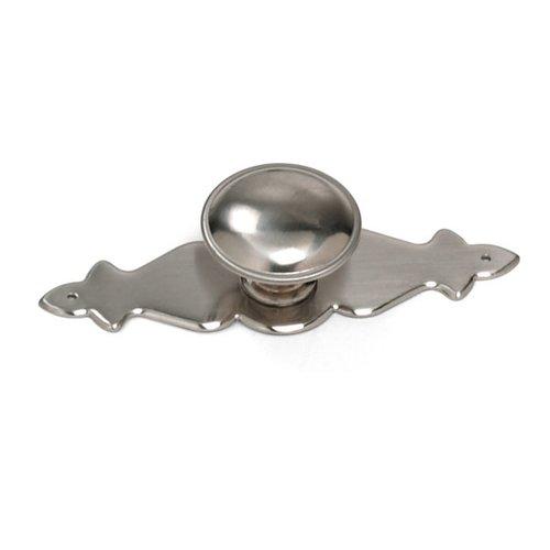 Laurey Hardware Georgetown 1-1/4 Inch Diameter Satin Chrome Cabinet Knob 22139