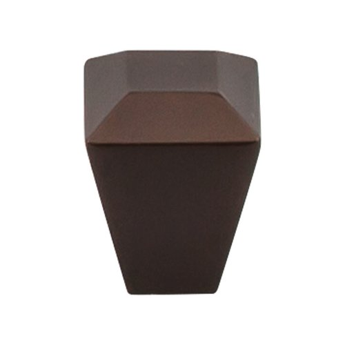 Top Knobs Serene 1 Inch Diameter Oil Rubbed Bronze Cabinet Knob TK811ORB