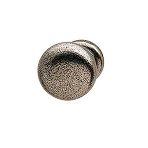 Hafele Bordeaux 1 Inch Diameter Pewter Cabinet Knob 125.88.950
