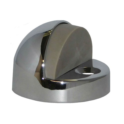 "Don-Jo High Dome Floor Stop 1-1/4"" H Bright Chrome 1442-625"