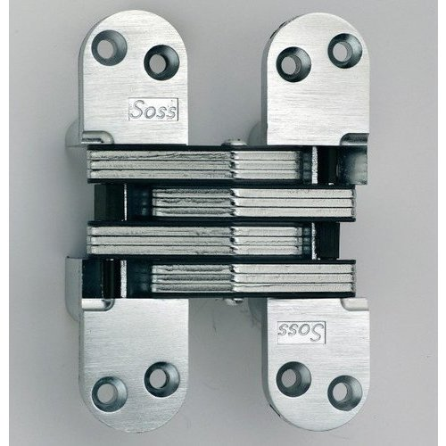 Soss 218 Invisible Hinge White E Coated 218pt4wh