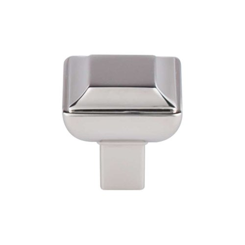 Transcend 1-1/8 Inch Diameter Polished Nickel Cabinet Knob <small>(#TK671PN)</small>