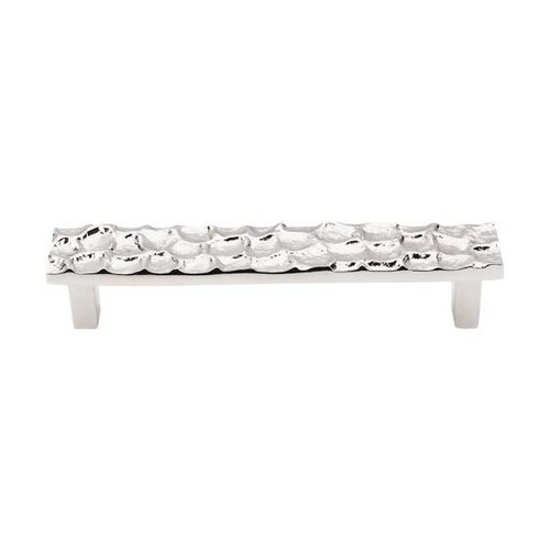 Top Knobs Cobblestone 5-1/16 Inch Center to Center Polished Nickel Cabinet Pull TK305PN