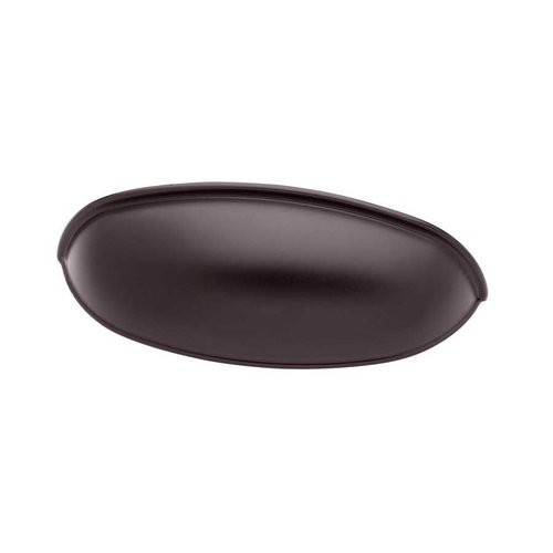Liberty Hardware Cup Pulls 2-1/2 Inch Center to Center Dark Oil Rubbed Bronze Cabinet Cup Pull PN1053-OB3-C