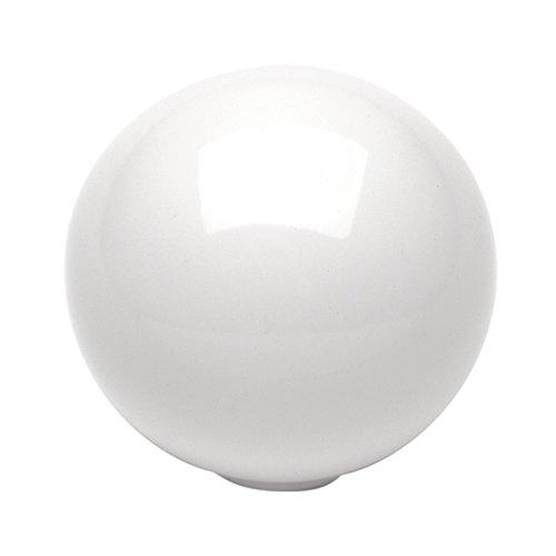 Hickory Hardware Conquest 1-1/4 Inch Diameter White Cabinet Knob P14021-W