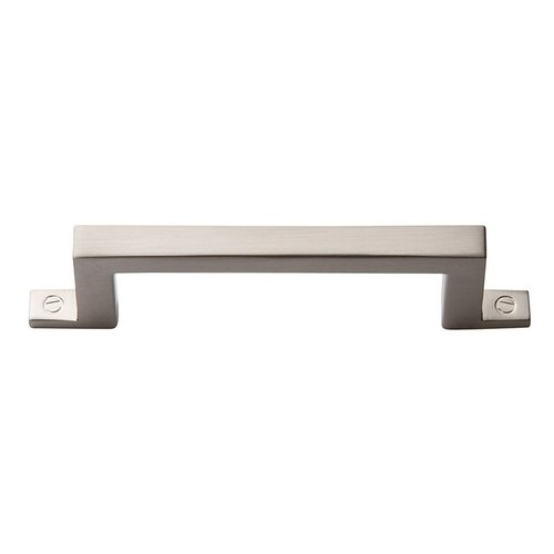 "Campaign Bar Pull 3"" C/C Brushed Nickel <small>(#384-BRN)</small>"