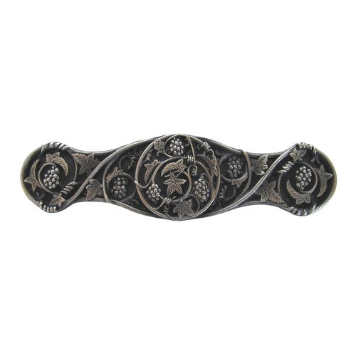 Tuscan 3 Inch Center to Center Antique Pewter Cabinet Pull <small>(#NHP-629-AP)</small>