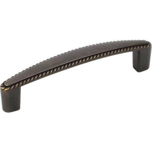 Hawthorne 3-3/4 Inch Center to Center German Bronze Cabinet Pull <small>(#22366-GB)</small>