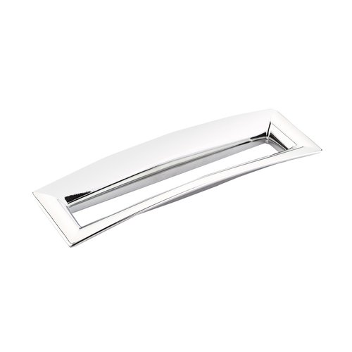 Finestrino 6-5/16 Inch Center to Center Polished Chrome Cabinet Pull <small>(#442-26)</small>