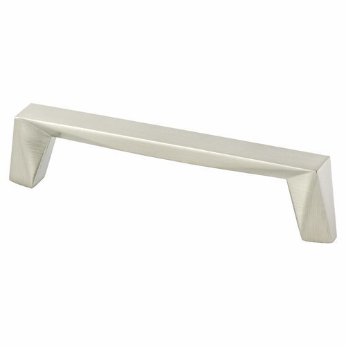 Berenson Swagger 5-1/16 Inch Center to Center Brushed Nickel Cabinet Pull 2312-1BPN-P