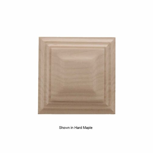 Brown Wood Small Triad Tile Unfinished Cherry 01901012CH1
