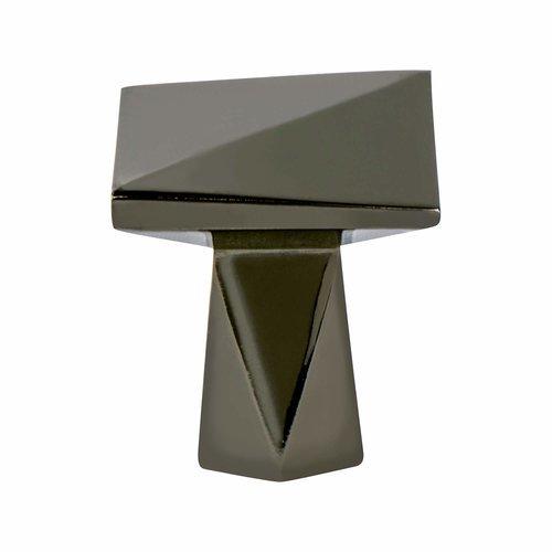 Berenson Swagger 1-3/16 Inch Diameter Black Nickel Cabinet Knob 2326-1098-P