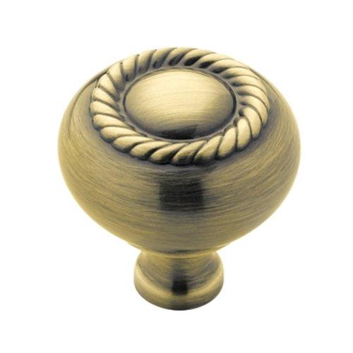 Amerock Allison Value Hardware 1-1/4 Inch Diameter Elegant Brass Cabinet Knob BP53471EB