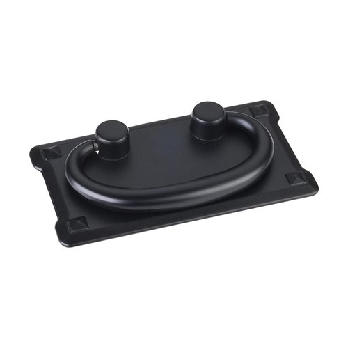 Elements by Hardware Resources Verona 3 Inch Center to Center Matte Black Cabinet Pull R1011MB