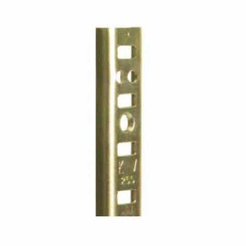 """Knape and Vogt KV #255 Steel Pilaster Strip-Brass 24"""" 255 BR 24"""