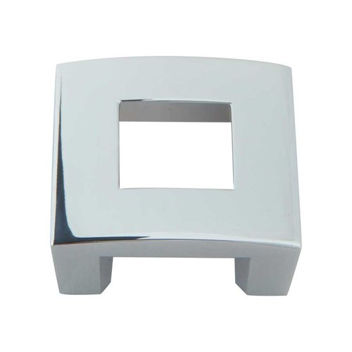 Atlas Homewares Centinel 1-1/4 Inch Center to Center Polished Chrome Cabinet Pull 255-CH