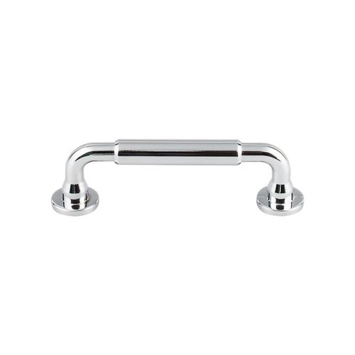 Top Knobs Serene 3-3/4 Inch Center to Center Polished Chrome Cabinet Pull TK822PC