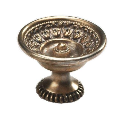 Schaub and Company Chalice 1-9/16 Inch Diameter Monticello Silver Cabinet Knob 931 MSL
