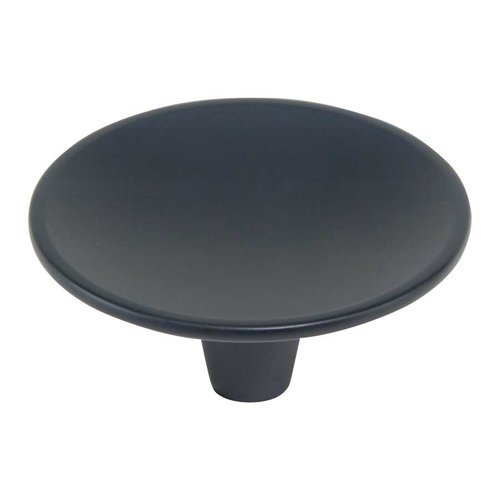 Atlas Homewares Dap 2-1/2 Inch Diameter Black Cabinet Knob 233-BL