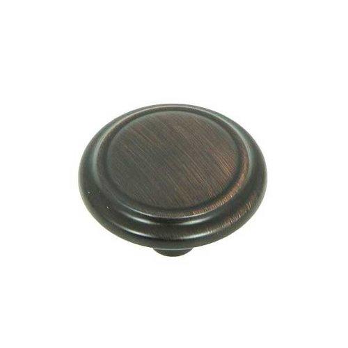 Stone Mill Hardware Princeton 1-1/4 Inch Diameter Oil Rubbed Bronze Cabinet Knob CP46434-OB