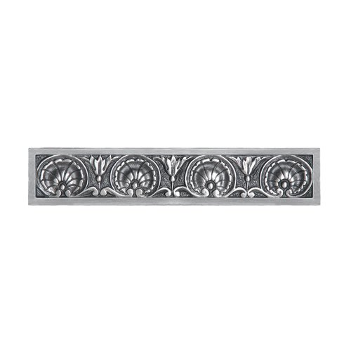 Notting Hill King's Road 4 Inch Center to Center Antique Pewter Cabinet Pull NHP-608-AP