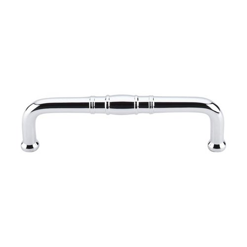 Top Knobs Appliance Pull 3-3/4 Inch Center to Center Polished Chrome Appliance Pull M839-96