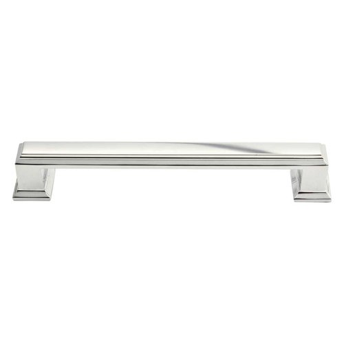 Atlas Homewares Sutton Place 5-1/16 Inch Center to Center Polished Nickel Cabinet Pull 292-PN