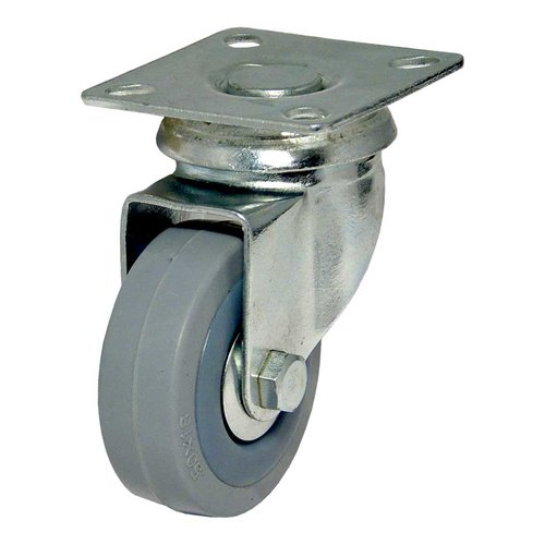 Richelieu Rubber Caster with Swivel - Grey F24784
